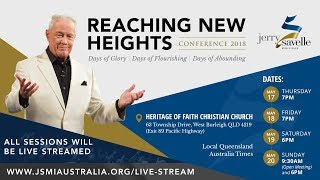 Session 5 - Reaching New Heights Conference with Jerry Savelle
