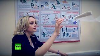 Застывший в воздухе автомат Калашникова  в штабе «Юнармии» провели Mannequin Challenge