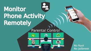 How to Monitor Phone Activity Remotely | Powerful Parental Control App for Any Android iOS Mobile