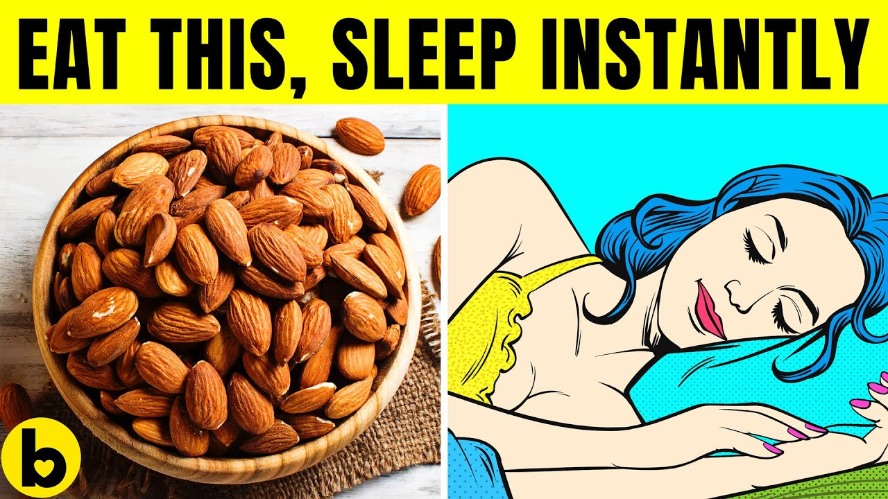 6 Best Foods that will help you Sleep better Instantly
