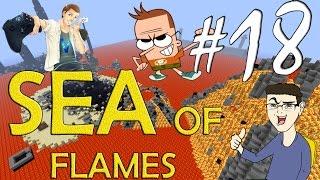 MINECRAFT : SEA OF FLAMES - DIAMANTI E FAIL IN ABBONDANZA w/SurrealPower & Vegas #18
