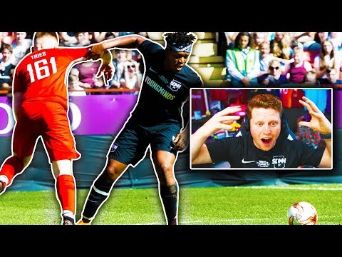 REACTING TO THE FINAL SIDEMEN FC VS YOUTUBE ALLSTARS MATCH