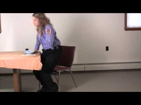 Heimlich maneuver, watch and learn