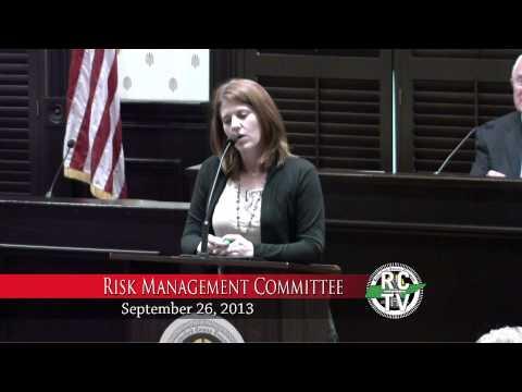Risk Management Committee - September 26, 2013