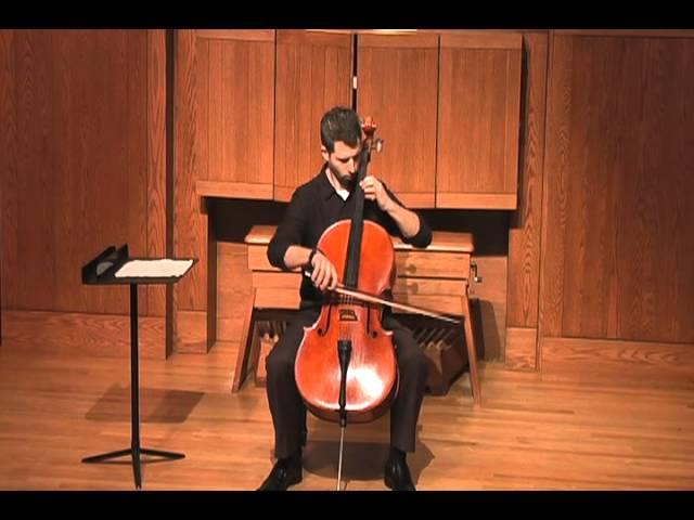 Philip Glass Song V - Solo Cello