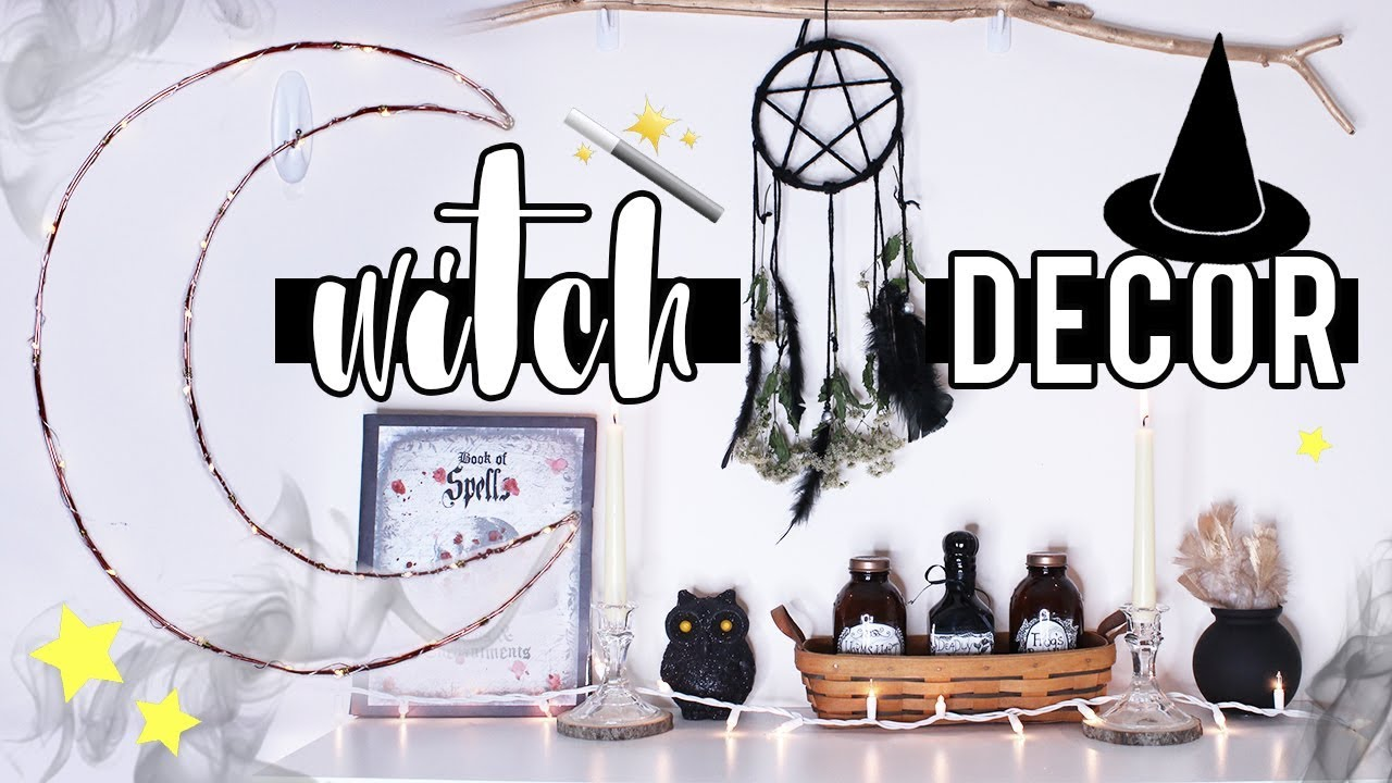Witch Inspired Decor