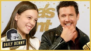 America's Got Talent Finals: Backstage With Courtney Hadwin & Michael Ketterer | #DailyDenny