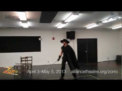 Zorro | Fight rehearsal/demonstration | Alliance Theatre