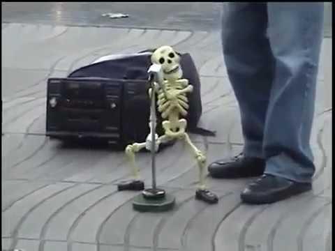 фото крутого скелета