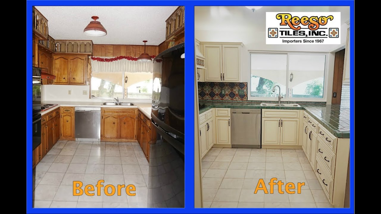 Modern Kitchen Remodel With Talavera