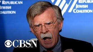 """John Bolton is """"prepared to testify"""" in Senate impeachment trial of President Trump"""