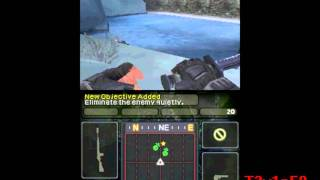 Call of Duty:Modern Warfare 3 Defiance - Nintendo DS Gameplay