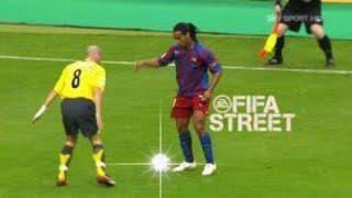 Ronaldinho Gaúcho ● Play FootBall Like Fifa Street ᴴᴰ