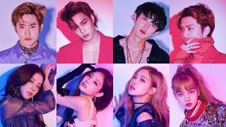 BLACKPINK (블랙핑크) X EXO (엑소) Moments Pt. 2