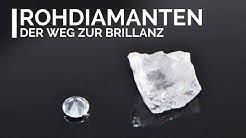 Rohdiamanten - So sehen ungeschliffene Diamanten aus