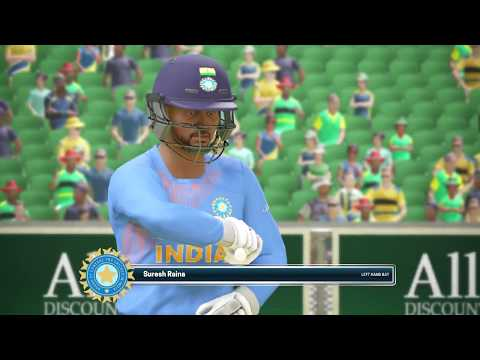 1st T20 India Vs South Africa 2018//Ashes Cricket Gameplay//