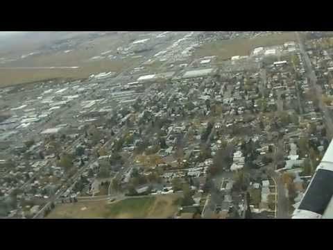 Landing in Williston, ND on Runway 11