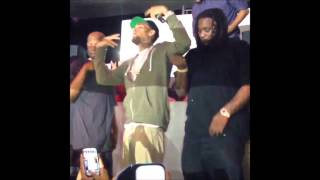 Chris Brown & The Crowd Singing Happy Birthday To Big Boy [2013/09/18]