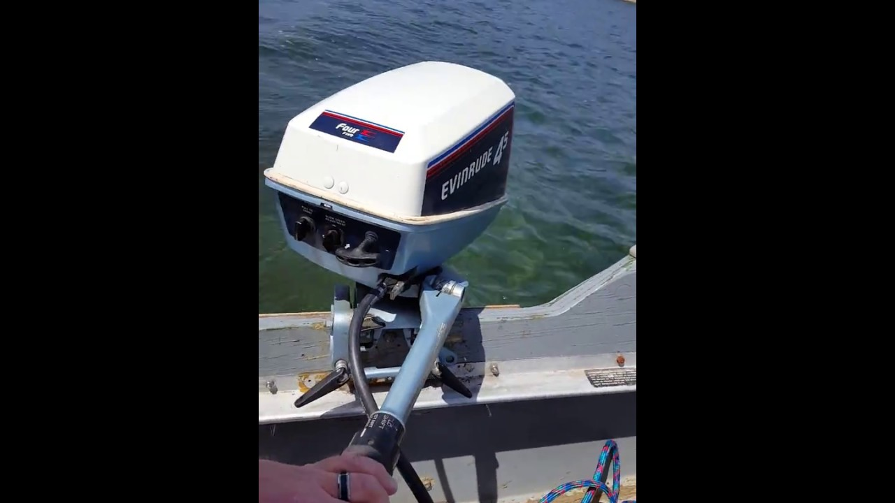 1981 Evinrude 45 Hp Outbard Motor