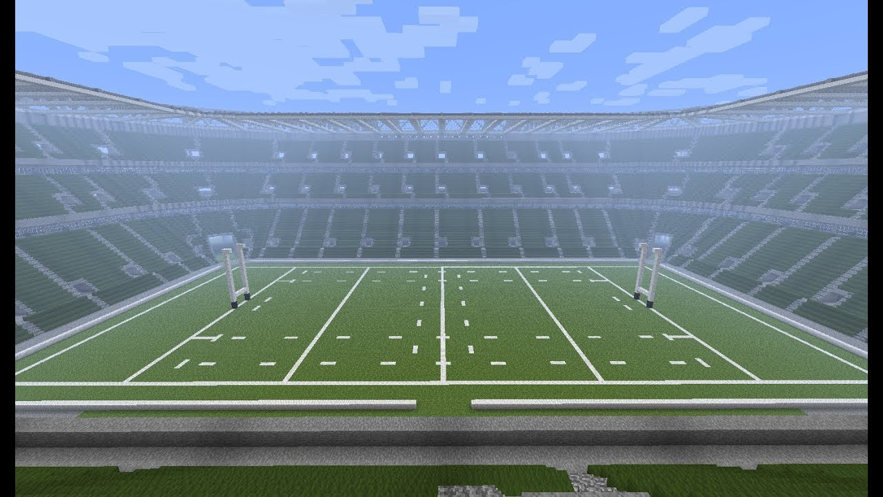 Twickenham Stadium Rugby In Minecraft Megabuild Youtube