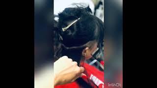 ОБНОВОЧКА Процесс короткая женская стрижка Виктория Феденко салон красоты La Familia salon Бровары