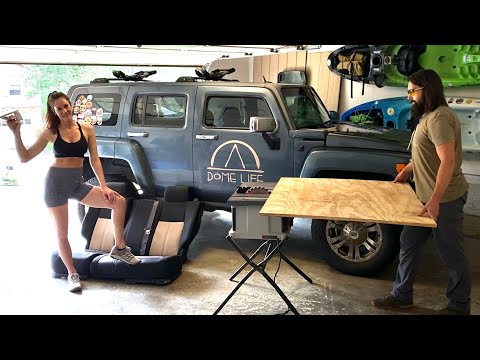 DIY SUV Platform Build   Hummer H3 Rear Seat Removal