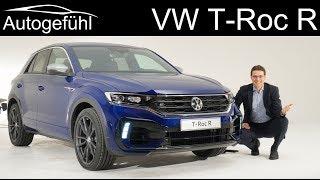 VW T-Roc R REVIEW Exterior Interior TRoc R - Autogefühl Video