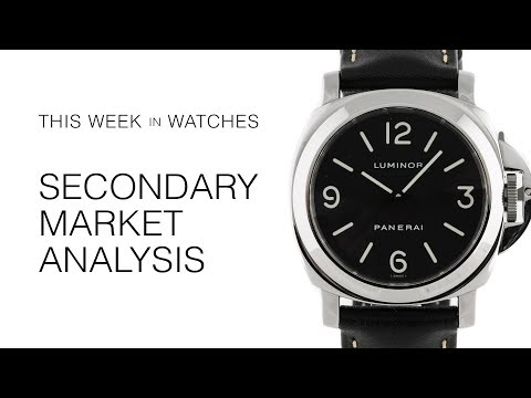 This Week in Watches: Secondary Market Analysis of Rolex, Audemars Piguet, and Patek Philippe