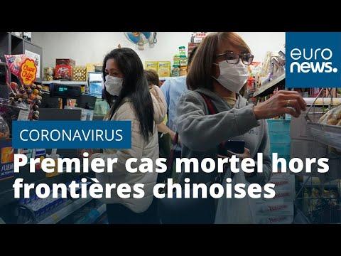 Coronavirus: un premier cas mortel en dehors de la Chine