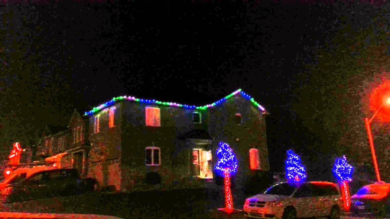 Light Show LED Christmas Lights Demo 1 - YouTube