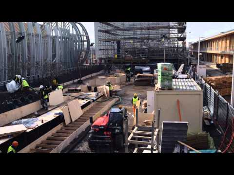 The UK Pavilion at Milan Expo 2015: Construction time-lapse video (long)