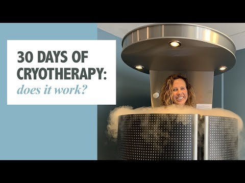 Does Cryotherapy Work? I tried it for 30 Days | RunToTheFinish