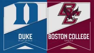 Baseball: BC vs. Duke Recap (April 27, 2019)
