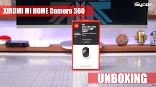 Xiaomi Mi Home Security Camera 360 India Unboxing and First Look