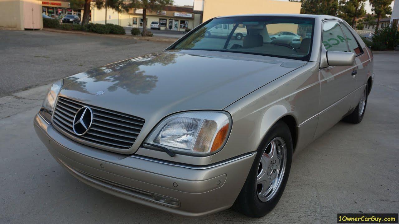 C140 mercedes benz coupe cl500 w140 2 door 1999 video for Mercedes benz 2 door coupe
