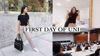 FIRST DAY OF COLLEGE! (uni freshman)