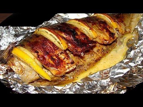 Как запечь рыбу ( леща ). | How to bake fish (bream).