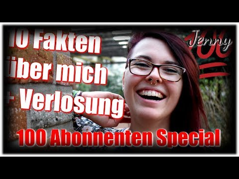 10 Facts About Me + Verlosung - 100 Abonnenten Special // Simply Jenny