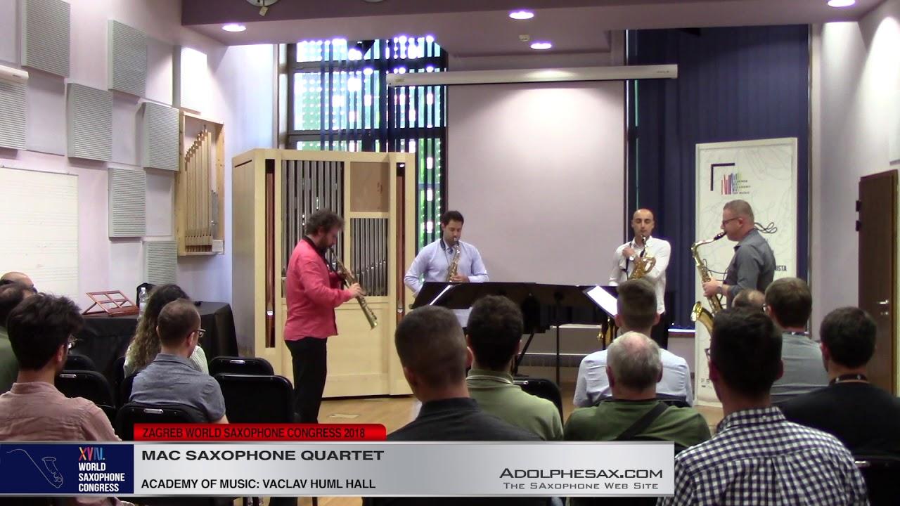 Foglie d`acero by Raffaele de Giacometti   MAC Saxophone Quartet   XVIII World Sax Congress 2018 #ad