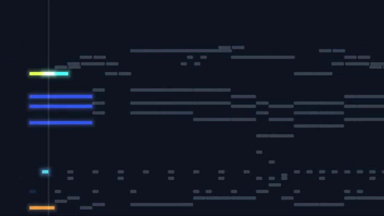 Siv3D MIDI Visualizer Demo