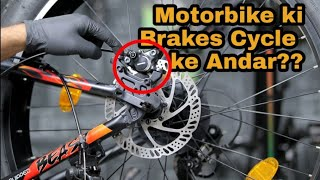 MTB MODIFICATION | How to Install HYDRAULIC BRAKES in any MTB