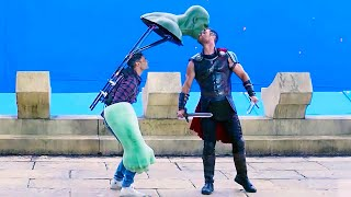 FUNNY MOMENTS BEHIND MARVEL MOVIES