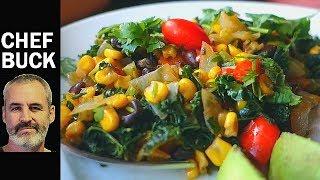 Best Kale Recipe - Mexican Kale