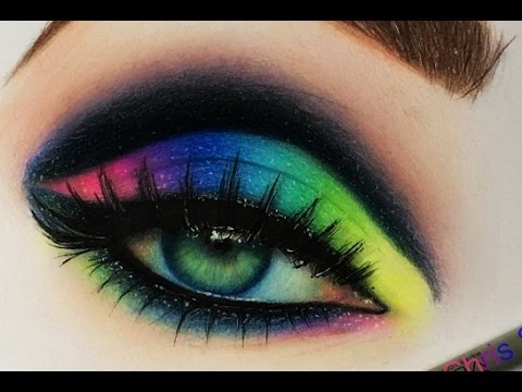 Realistic eye drawing colorful youtube ccuart Images