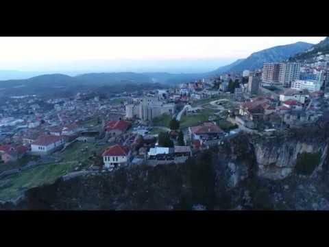 Kalaja e Krujes Castle of Kruja by Drone 4K Albania Kruje