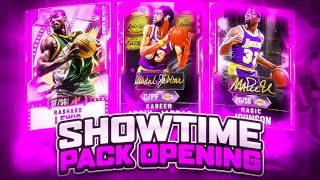 450,000 VC SHOWTIME PACK OPENING IN NBA 2K20 MYTEAM!! WE PULLED SOME OPALS!!