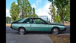 Renault Coupe Fuego GTX 2L 1984