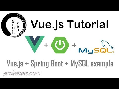 Spring Boot + Vue js example | Spring Data JPA + REST + MySQL CRUD