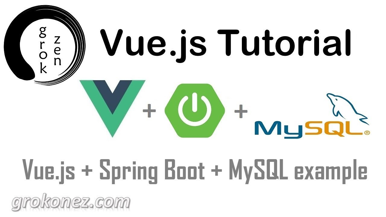 Spring Boot + Vue js example | Spring Data JPA + REST +