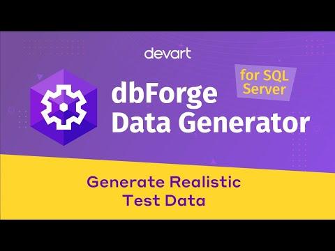 SQL Server Data Generator For Realistic Test Data Creation